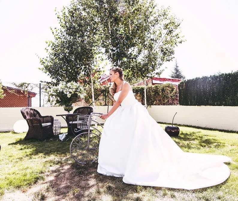 fotografos de boda en Mallorca jardin