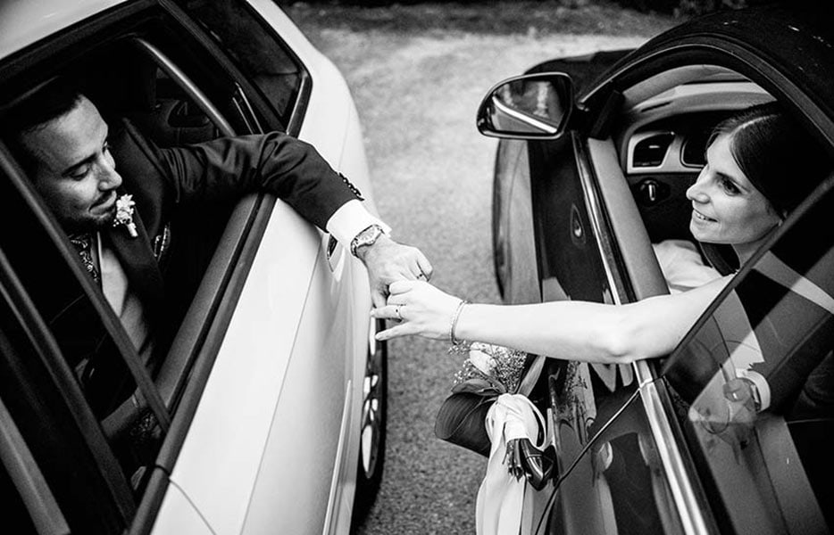 Weddings photographers Islas Baleares cars