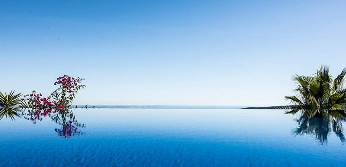 Architecture and interior design photographer Majorca lux pool""