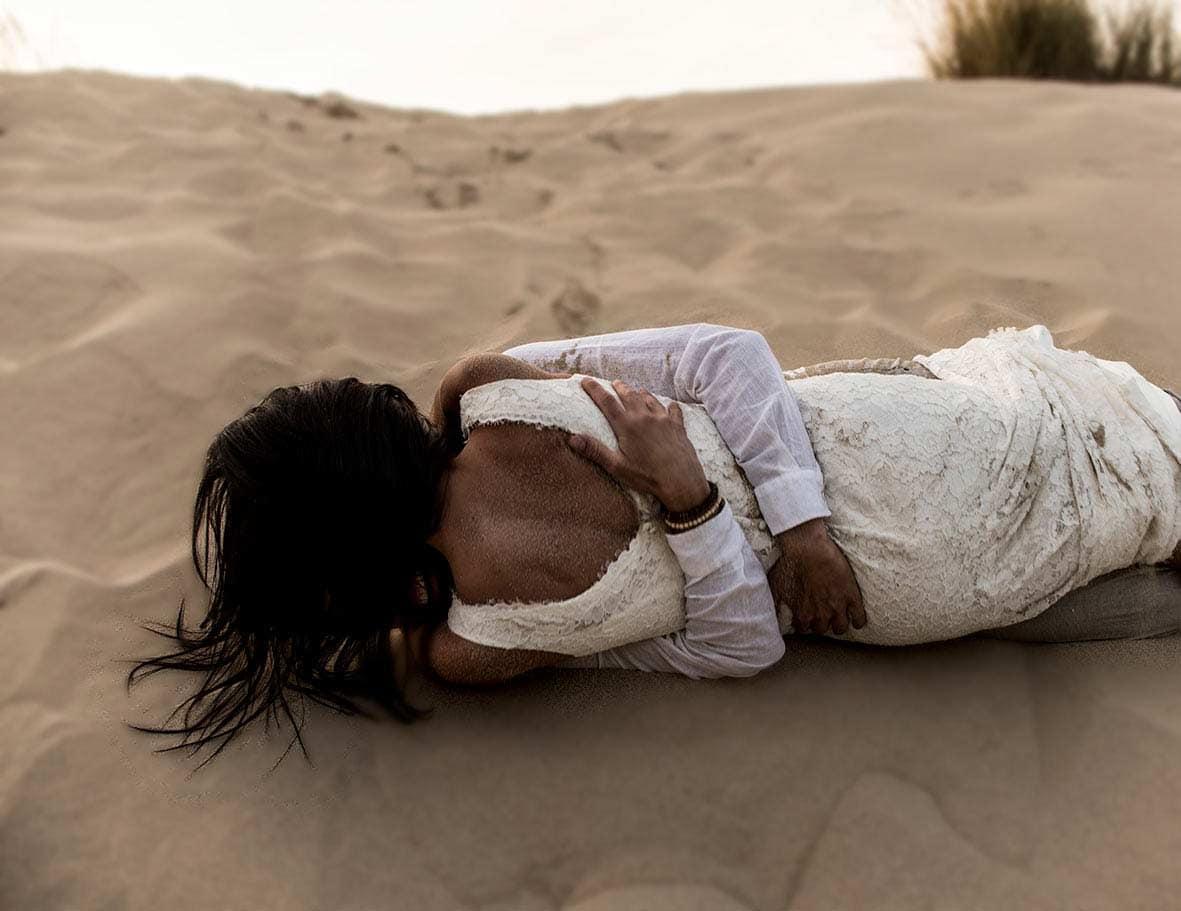 elopement fotografo mallorca dunas