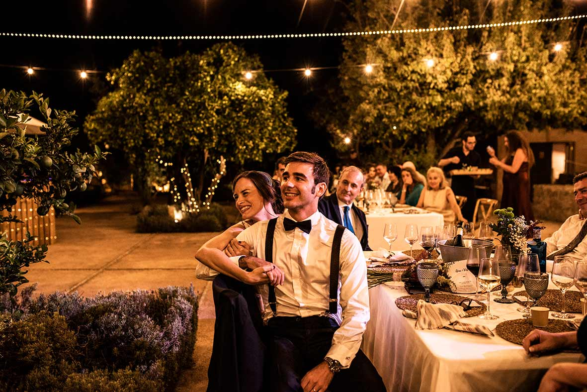 Fotógrafos Mallorca bodas banquete