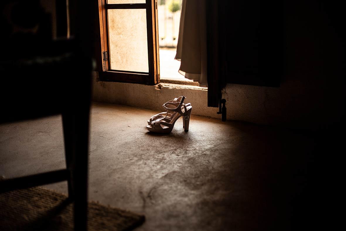 Weddingphotographer Mallorca shoes