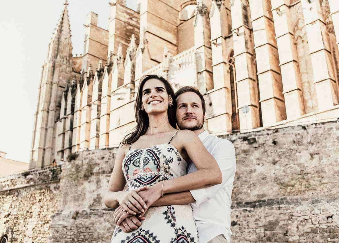 wedding destination in mallorca cathedral