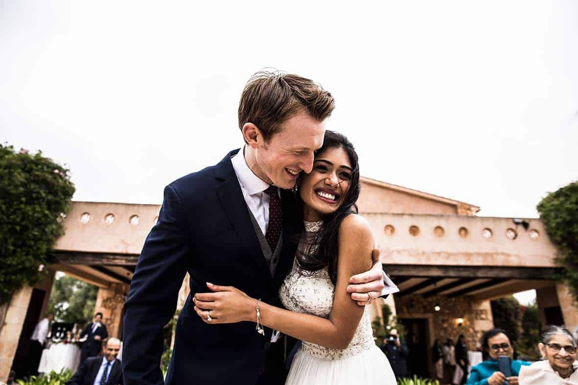 incredible indian wedding in mallorca