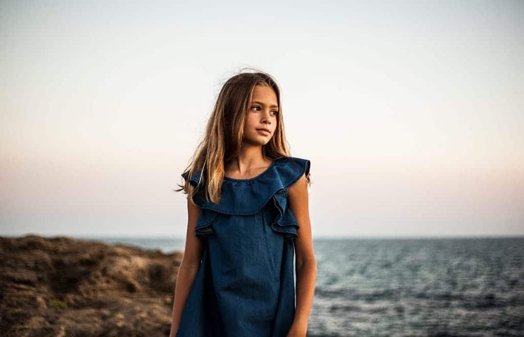 children's clothing mallorca blue sea