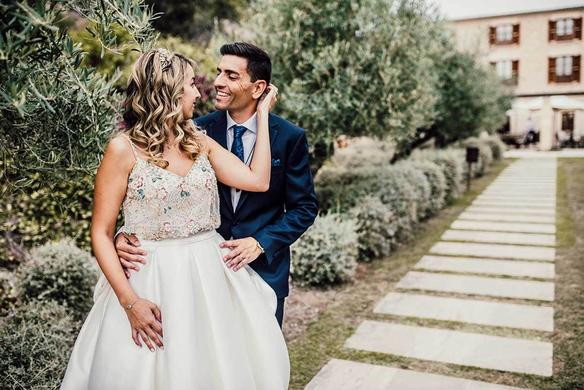 postwedding session in Mallorca romantic