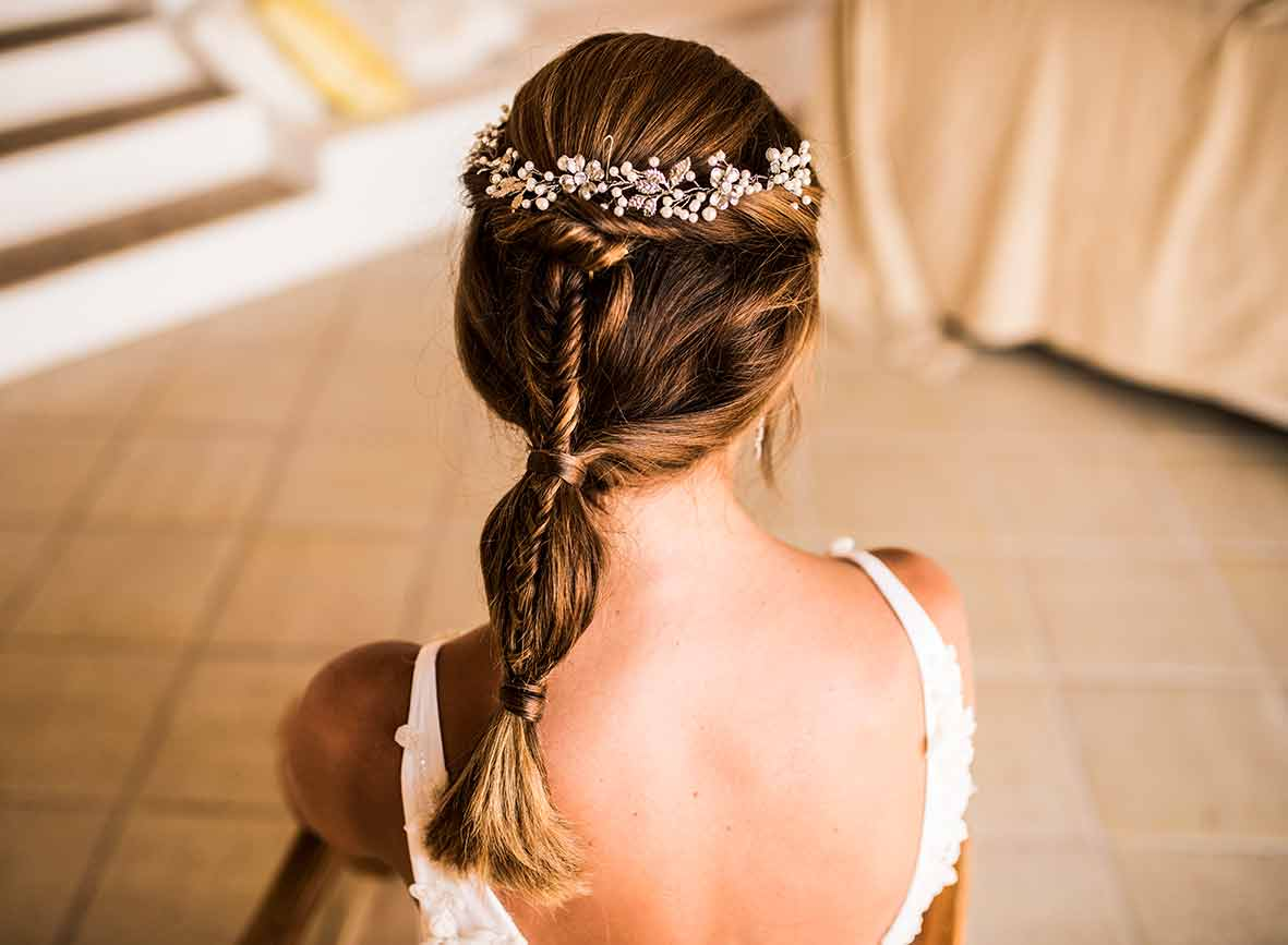 """ALT""wedding photographers in Mallorca hair"