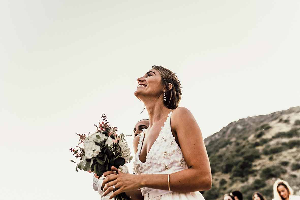 """ALT""wedding photographers in Mallorca happy look"