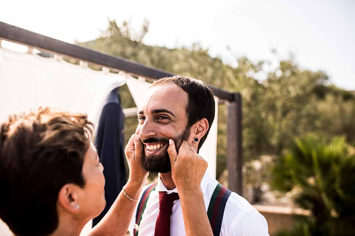 """ALT""wedding photographers in Mallorca mother"