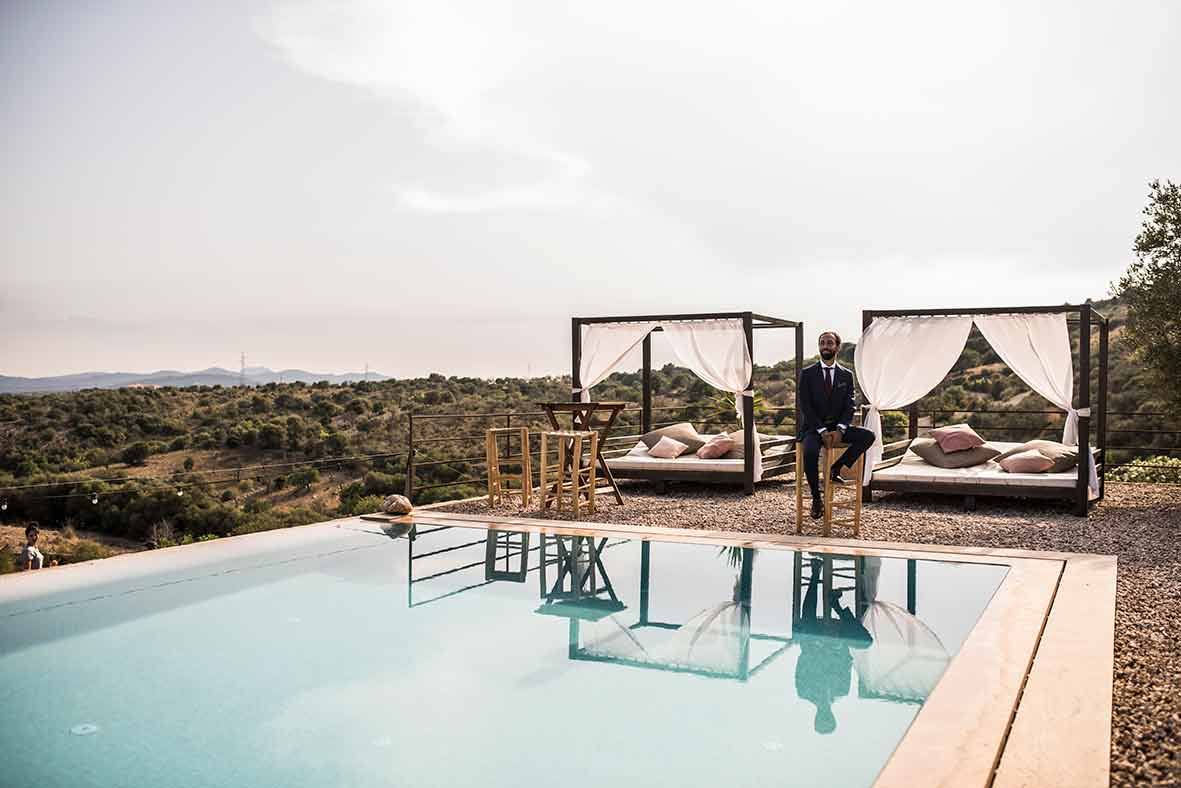 """""""ALT""""wedding photographer in Mallorca chill out"""