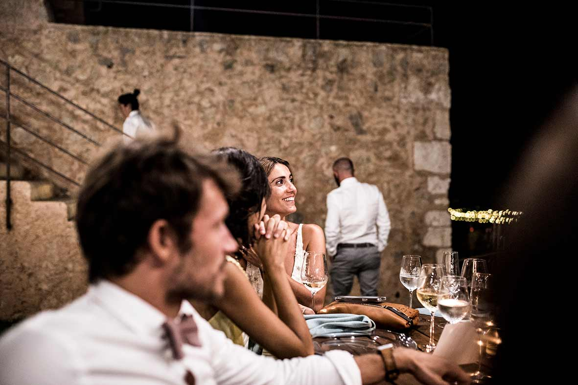 """ALT""wedding photographers in Mallorca dinner"