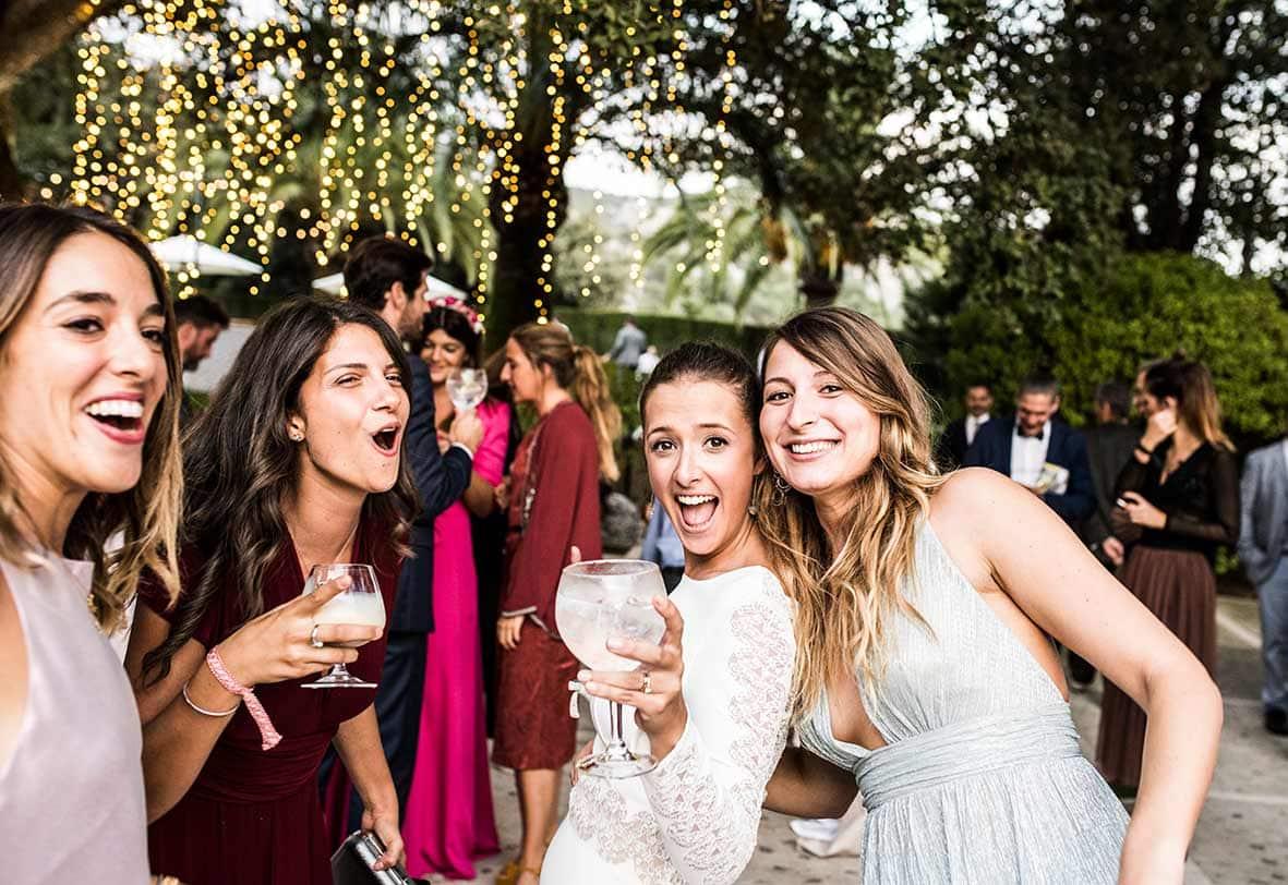 """""""ALT""""wedding finca comassema girlfriends"""