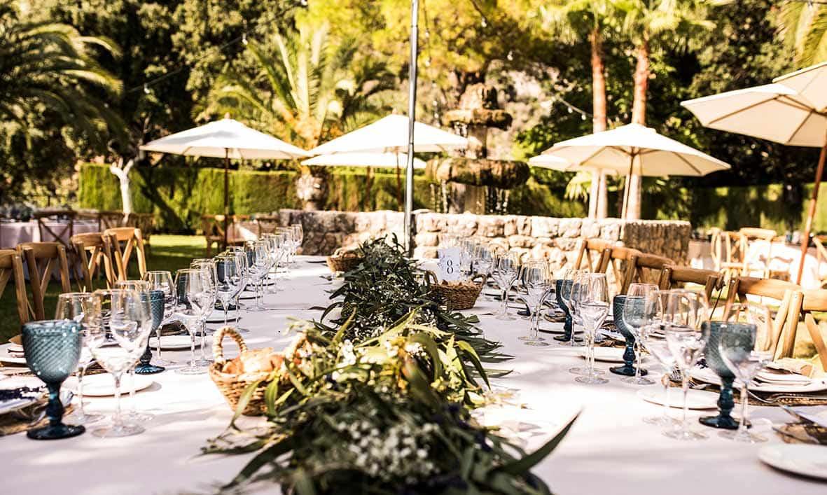 """""""ALT""""wedding finca comassema tables"""