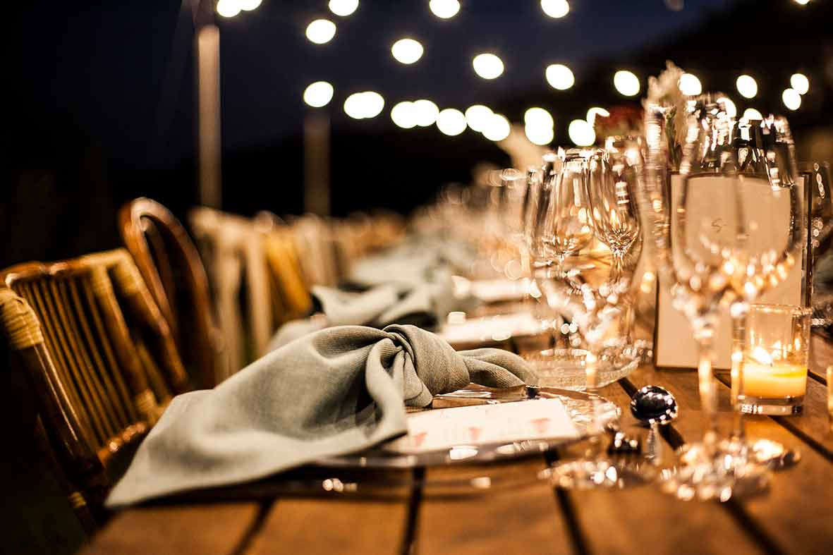 """""""ALT""""sustainable catering in Mallorca Tot a Punt weddings details"""