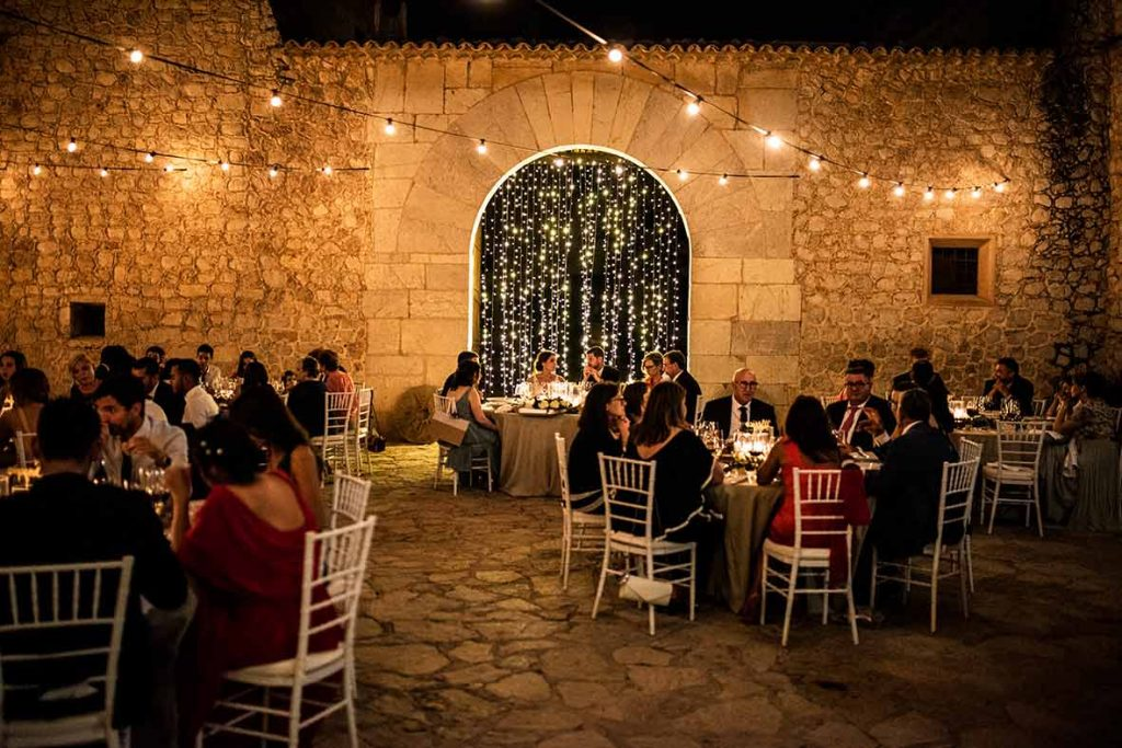 """ALT""private fincas for weddings in mallorca son berga lights"""