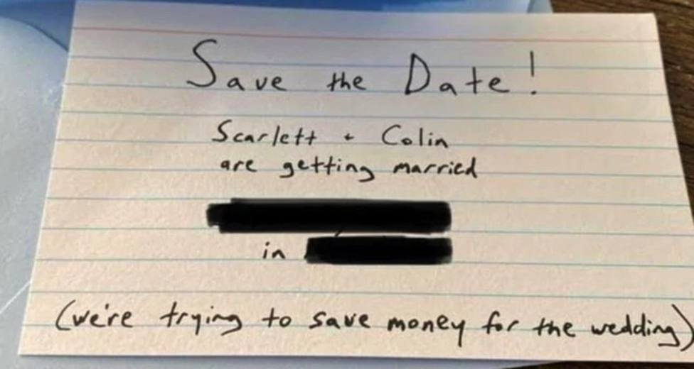 """""""ALT""""bodas en época de coronavirus scarlett invitation"""""""