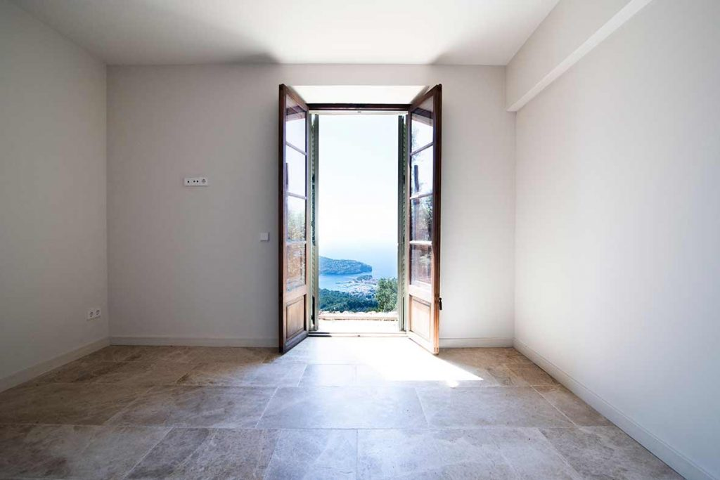 """ALT""architectural and interior design photographer in mallorca bedroom views"""
