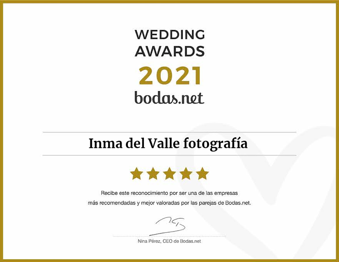 """ALT""wedding awards bodas.net 2021 sello"""
