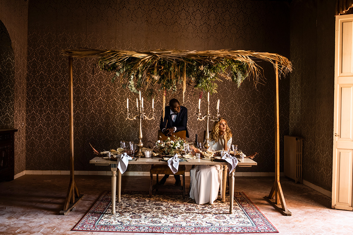 """""""ALT""""sustainable editorial in mallorca bridal table"""""""