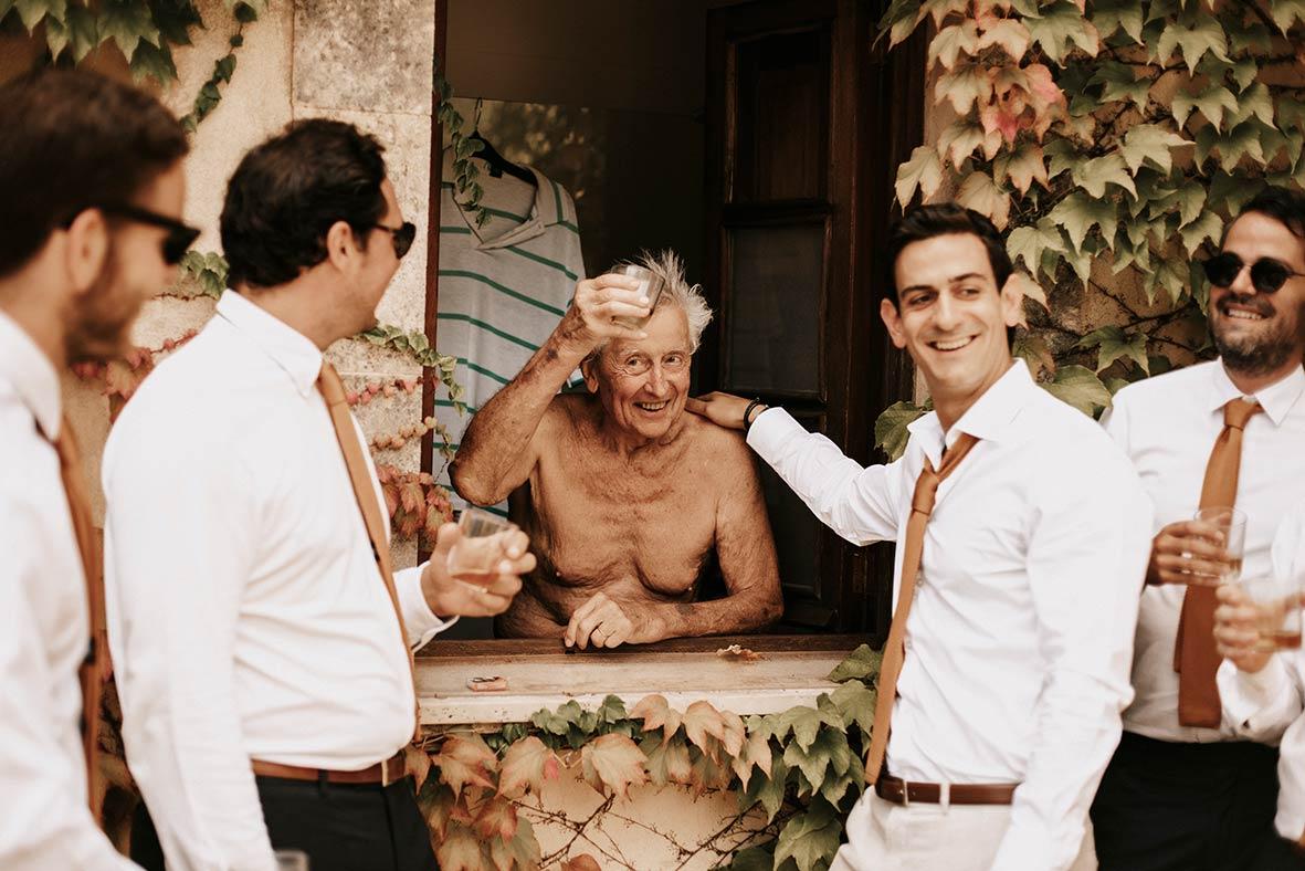 """ALT""fotógrafo de boda finca comassema padre del novio"""